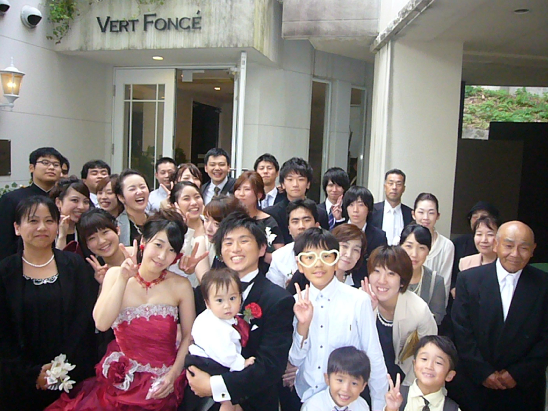 福岡,会費制披露宴,レストランウェディング