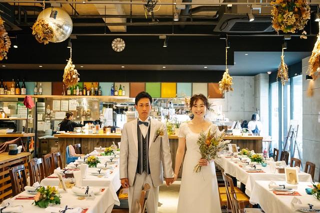 福岡,会費制結婚式,二次会,少人数結婚式,レストランウェデイング